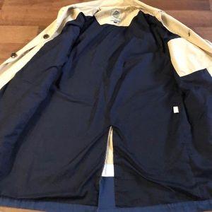 Scotch & Soda Jackets & Coats - Scotch Soda Trench Coat Size L Beige Cotton